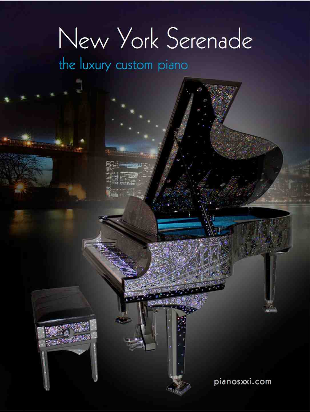 1 Discover New York Serenade Custom Piano