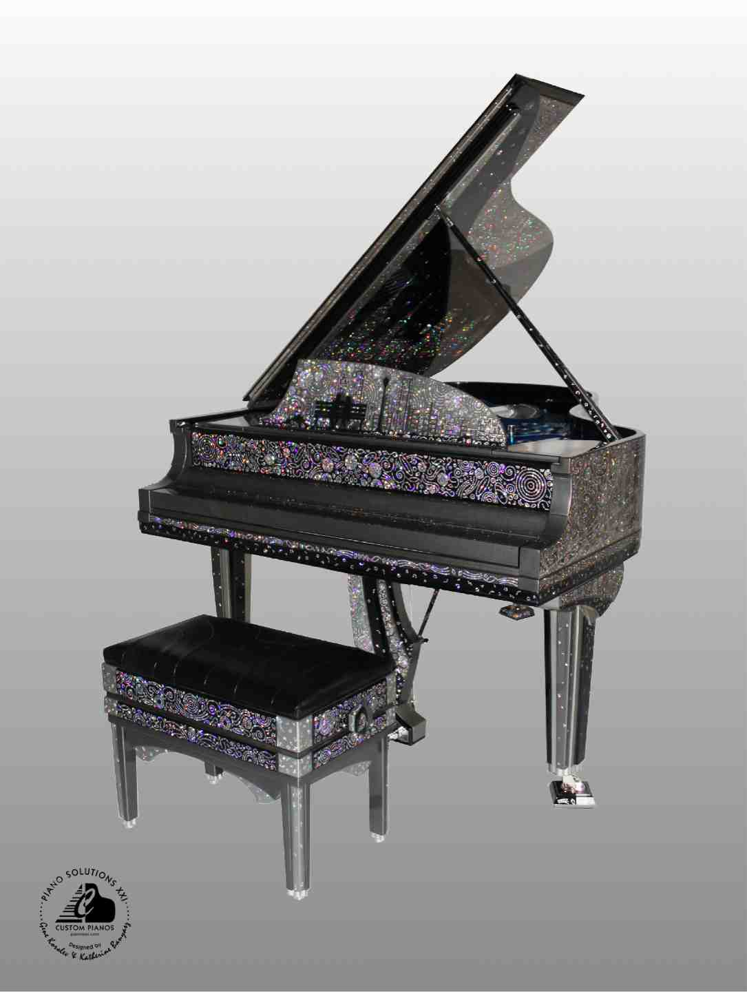 3 Discover New York Serenade Custom Piano