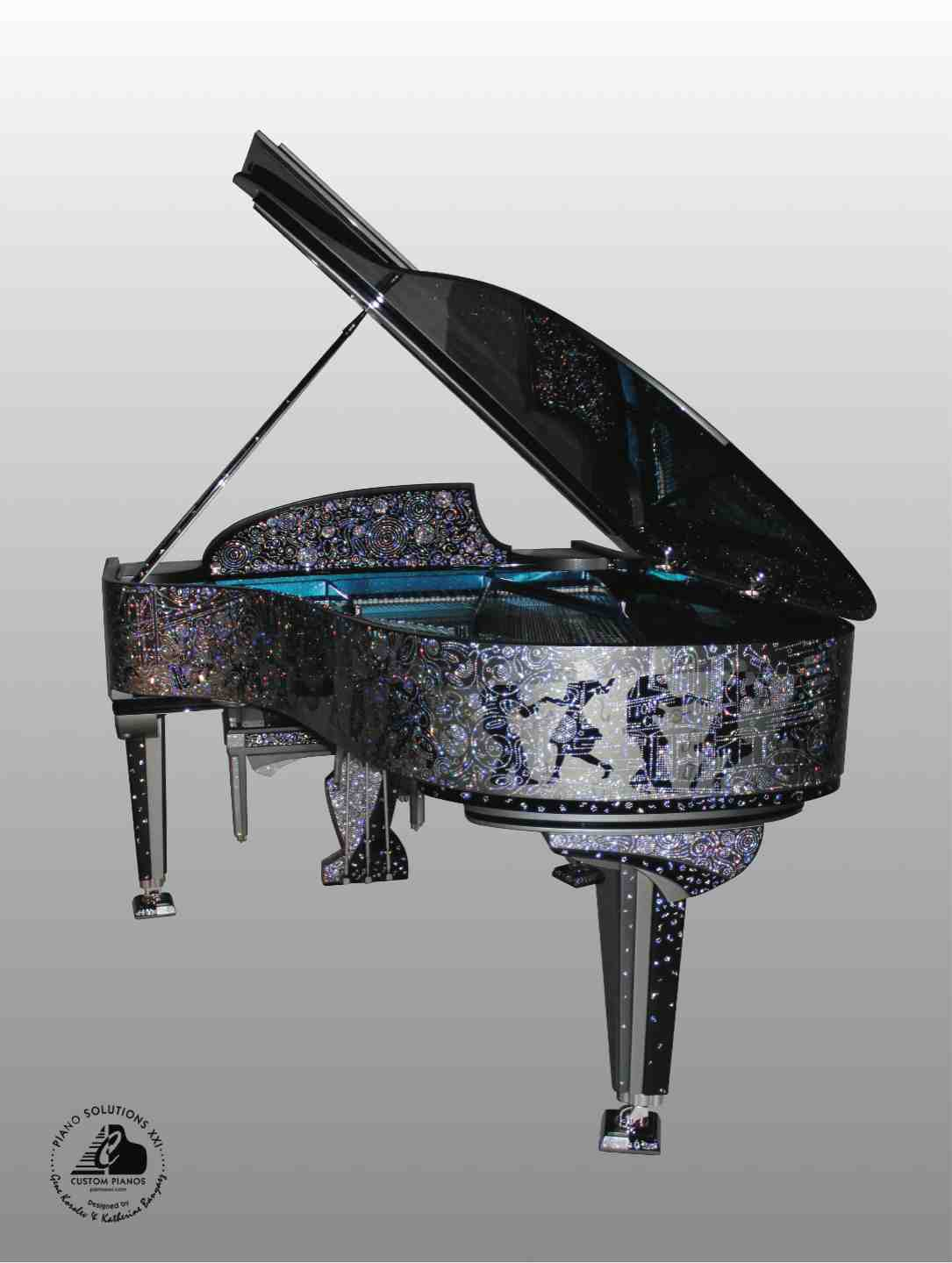 5 Discover New York Serenade Custom Piano