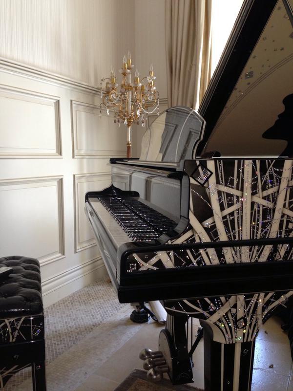 B6Z_ez6CYAAtnP5 Discover Coco Chanel Custom Piano